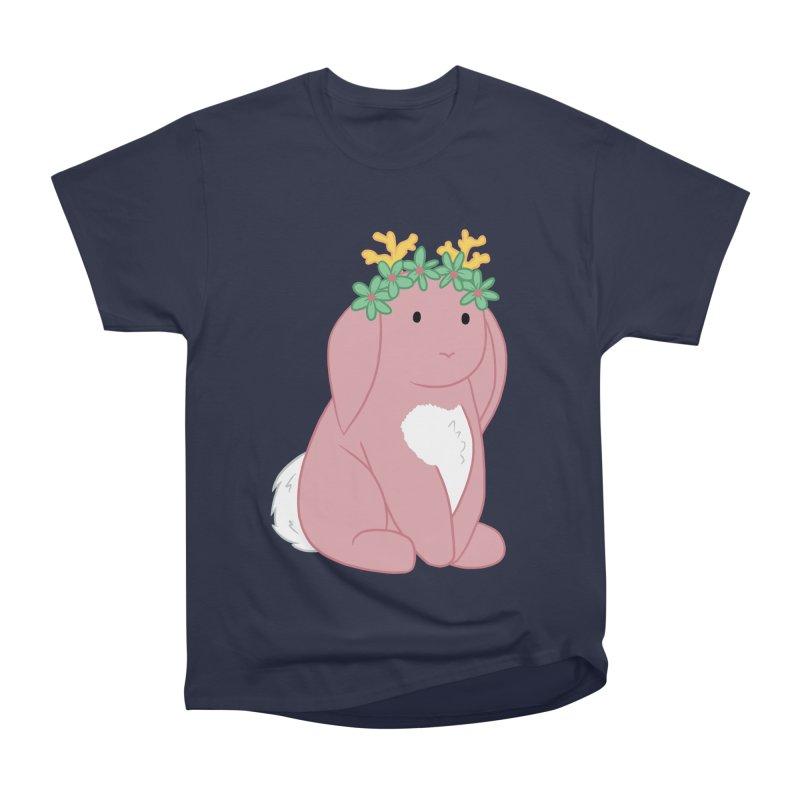 Pink Spring Festival Jackalope Women's Heavyweight Unisex T-Shirt by Rachel Yelding   enchantedviolin