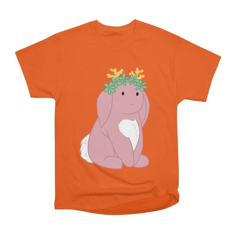 Pink Spring Festival Jackalope Men's T-Shirt by Rachel Yelding | enchantedviolin