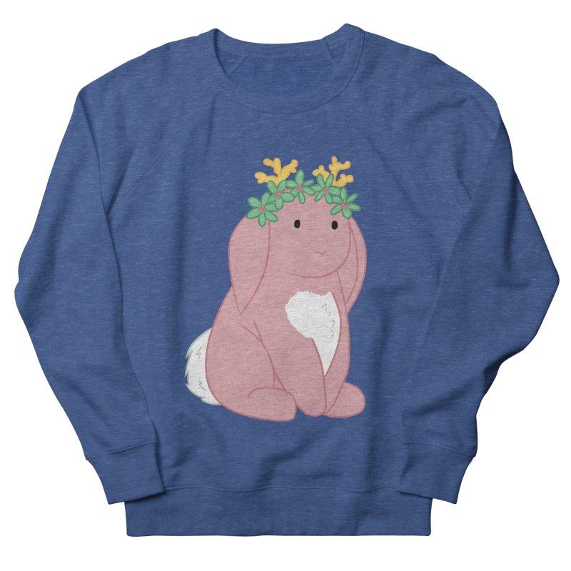 Pink Spring Festival Jackalope Women's French Terry Sweatshirt by Rachel Yelding | enchantedviolin
