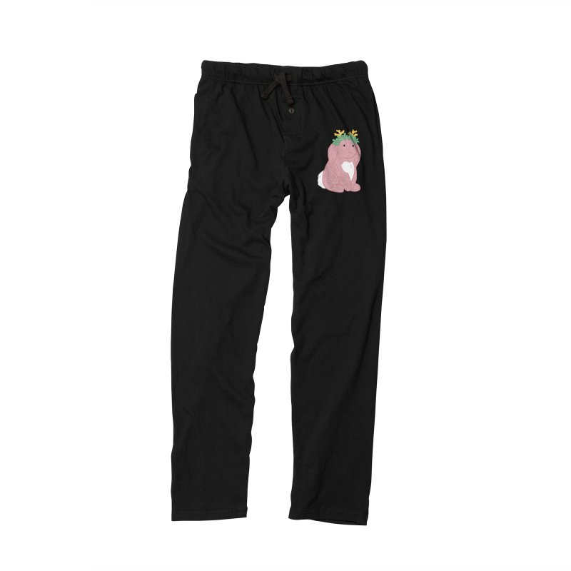 Pink Spring Festival Jackalope Women's Lounge Pants by Rachel Yelding | enchantedviolin
