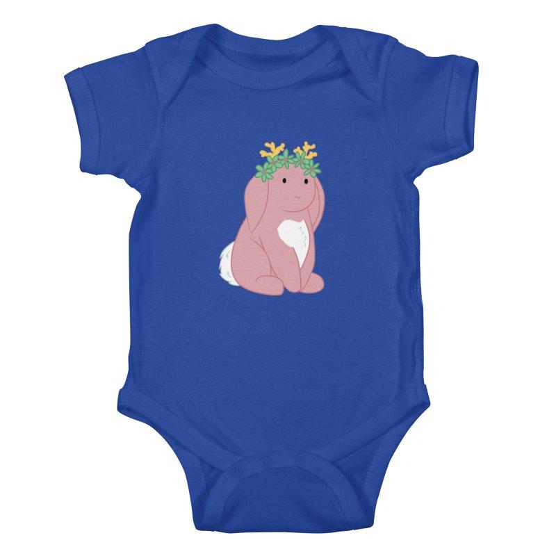 Pink Spring Festival Jackalope Kids Baby Bodysuit by Rachel Yelding | enchantedviolin