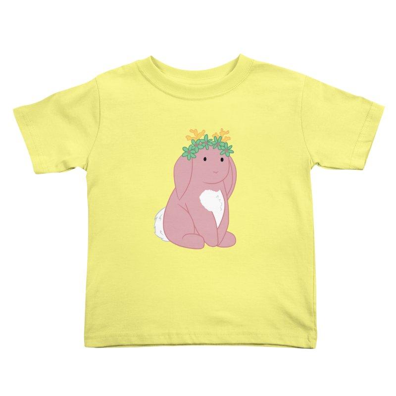 Pink Spring Festival Jackalope Kids Toddler T-Shirt by Rachel Yelding   enchantedviolin