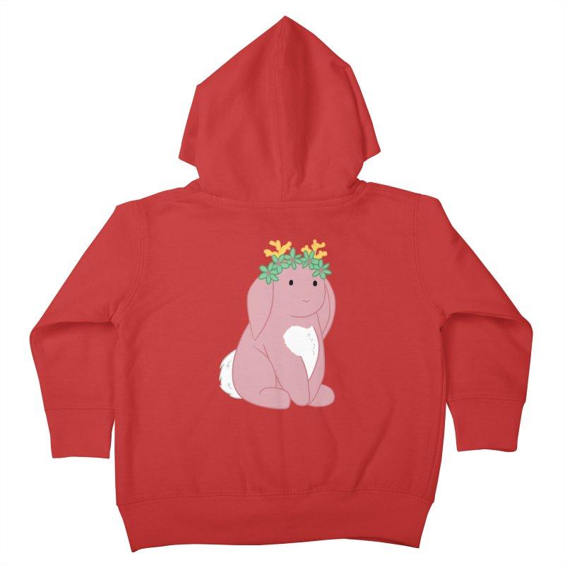Pink Spring Festival Jackalope Kids Toddler Zip-Up Hoody by Rachel Yelding | enchantedviolin