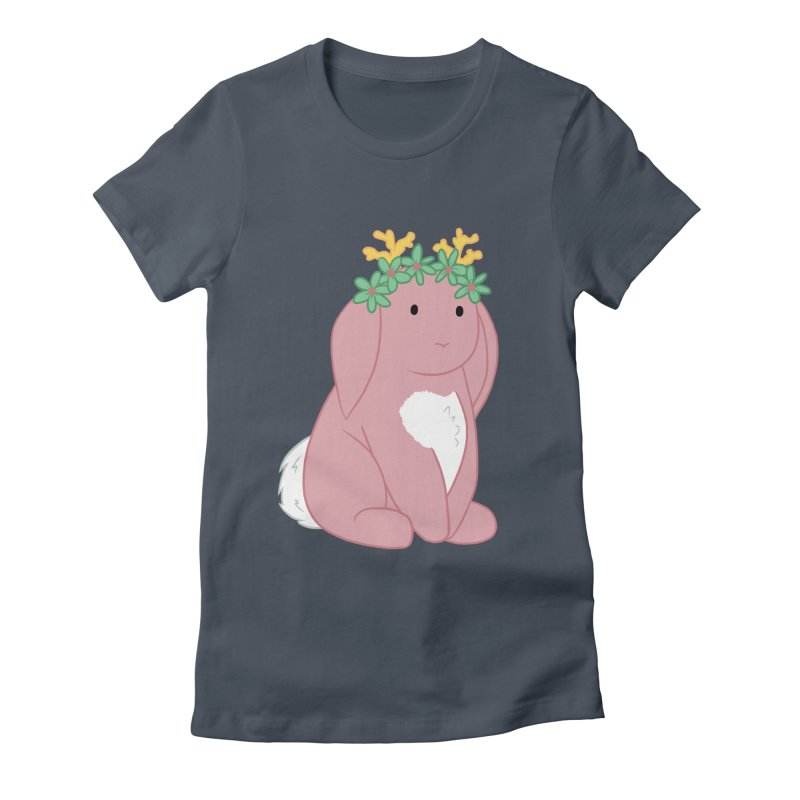 Pink Spring Festival Jackalope Women's T-Shirt by Rachel Yelding   enchantedviolin