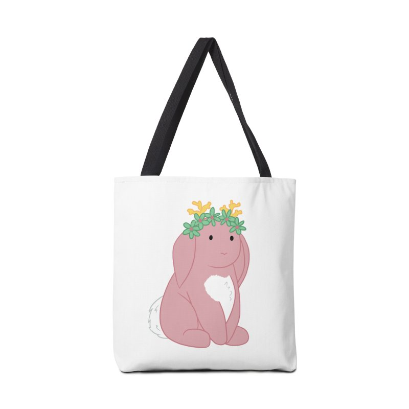 Pink Spring Festival Jackalope Accessories Bag by Rachel Yelding | enchantedviolin