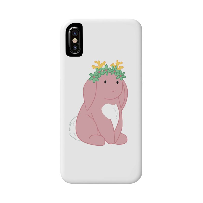 Pink Spring Festival Jackalope Accessories Phone Case by Rachel Yelding | enchantedviolin