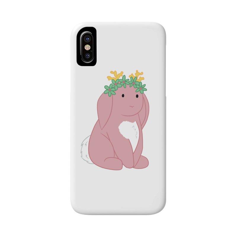 Pink Spring Festival Jackalope Accessories Phone Case by Rachel Yelding | enchantedviolin