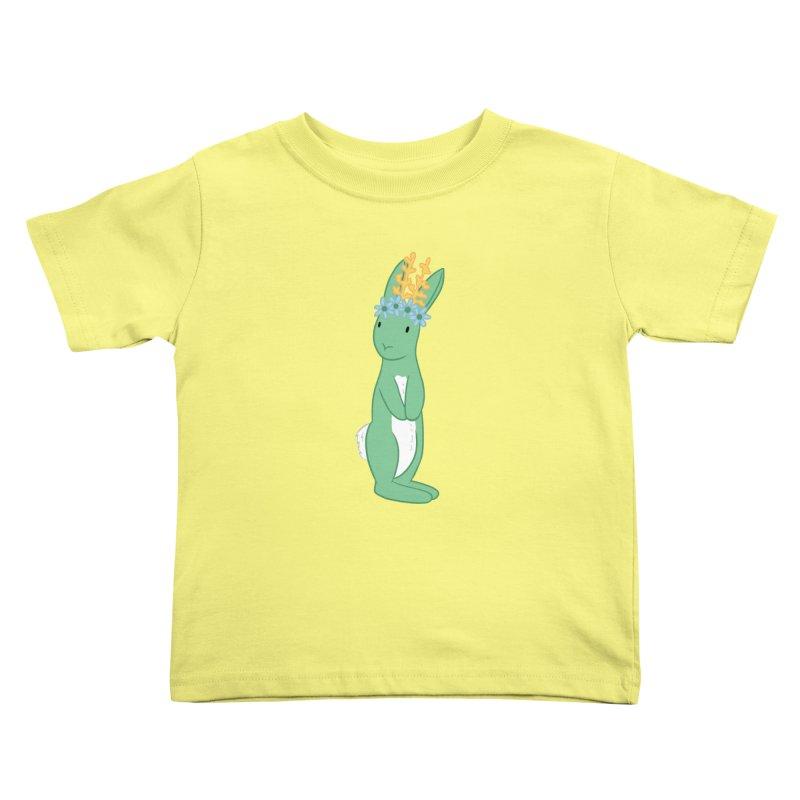 Green Spring Festival Jackalope Kids Toddler T-Shirt by Rachel Yelding | enchantedviolin
