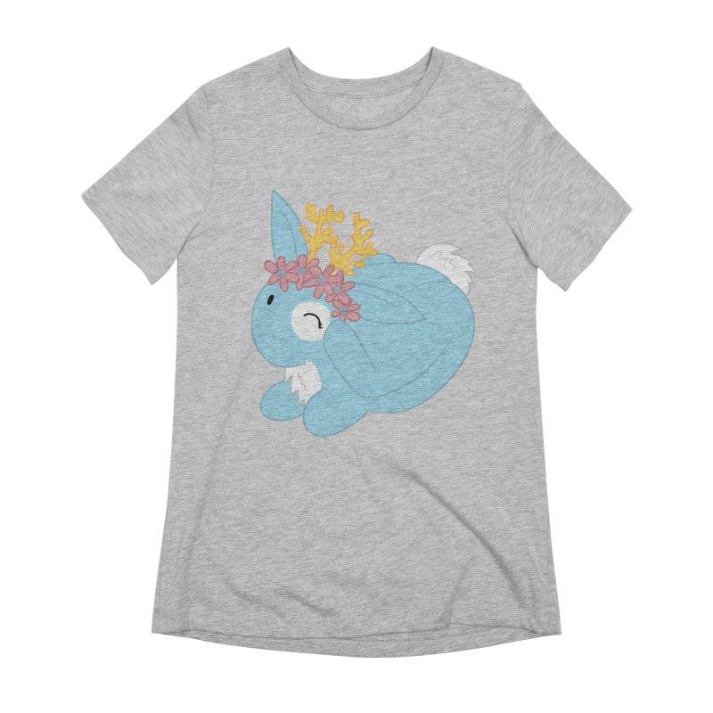 Blue Spring Festival Jackalope Women's Extra Soft T-Shirt by Rachel Yelding   enchantedviolin