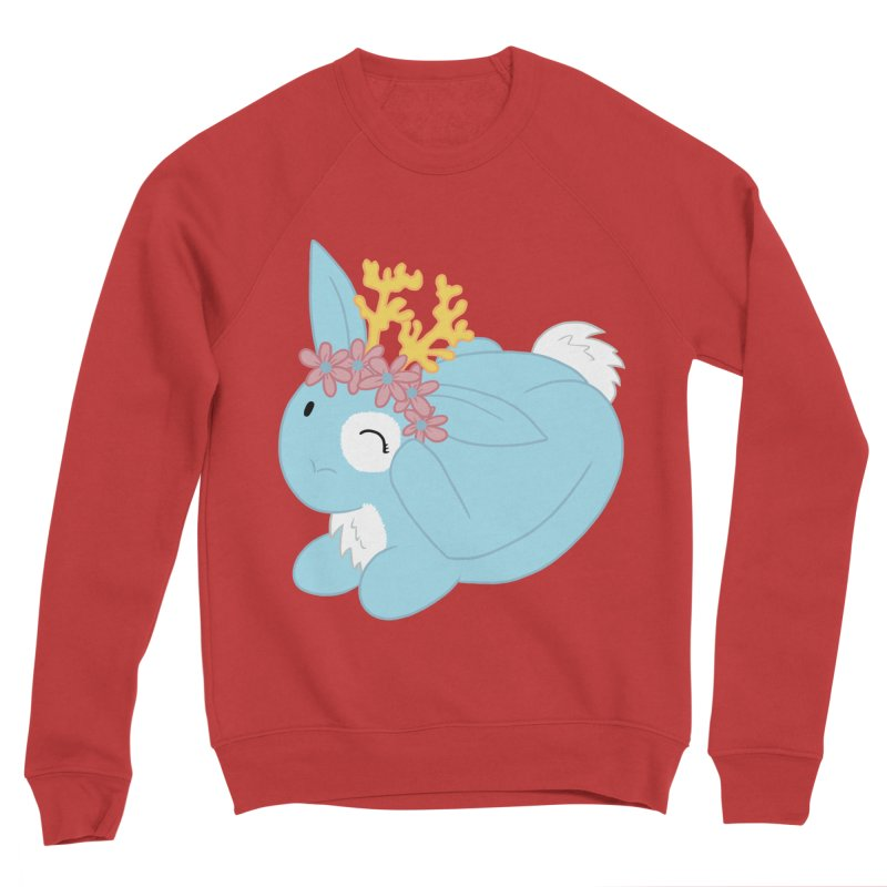 Blue Spring Festival Jackalope Women's Sponge Fleece Sweatshirt by Rachel Yelding   enchantedviolin