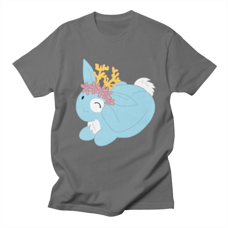 Blue Spring Festival Jackalope Women's T-Shirt by Rachel Yelding | enchantedviolin