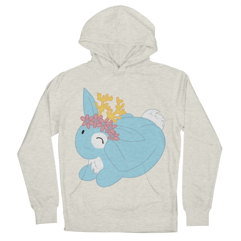 Blue Spring Festival Jackalope Men's French Terry Pullover Hoody by Rachel Yelding | enchantedviolin