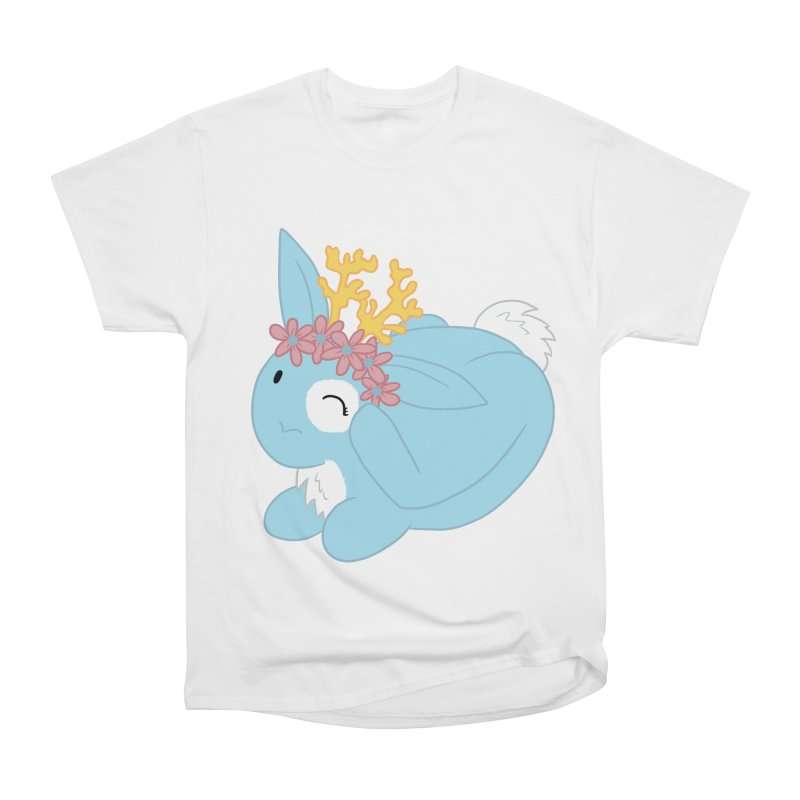 Blue Spring Festival Jackalope Women's Heavyweight Unisex T-Shirt by Rachel Yelding | enchantedviolin
