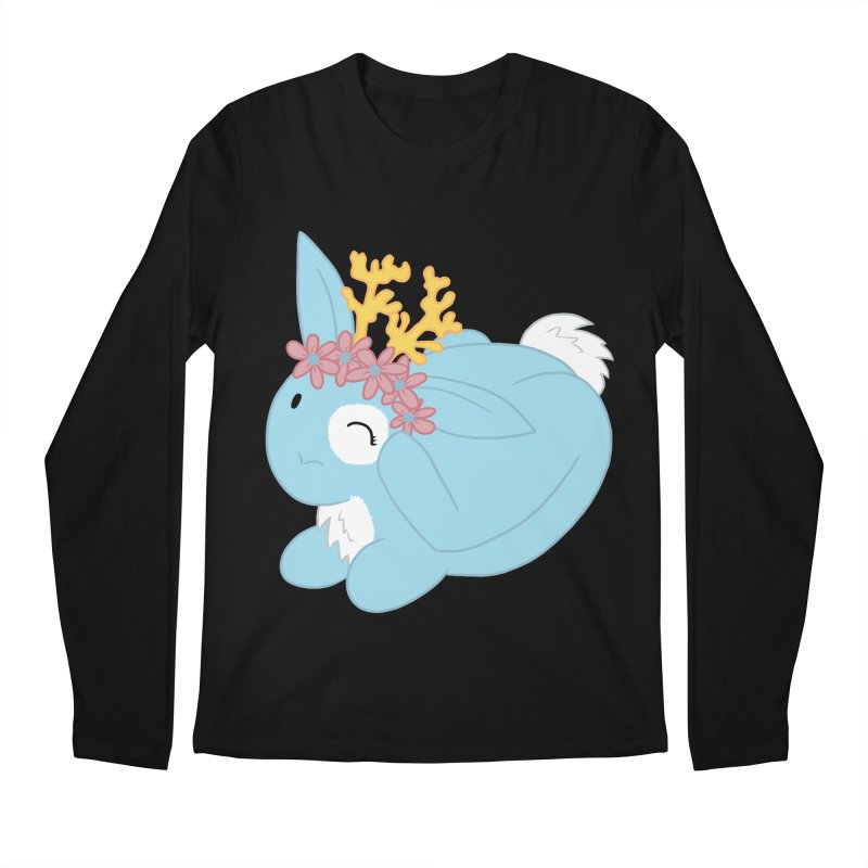 Blue Spring Festival Jackalope Men's Regular Longsleeve T-Shirt by Rachel Yelding | enchantedviolin