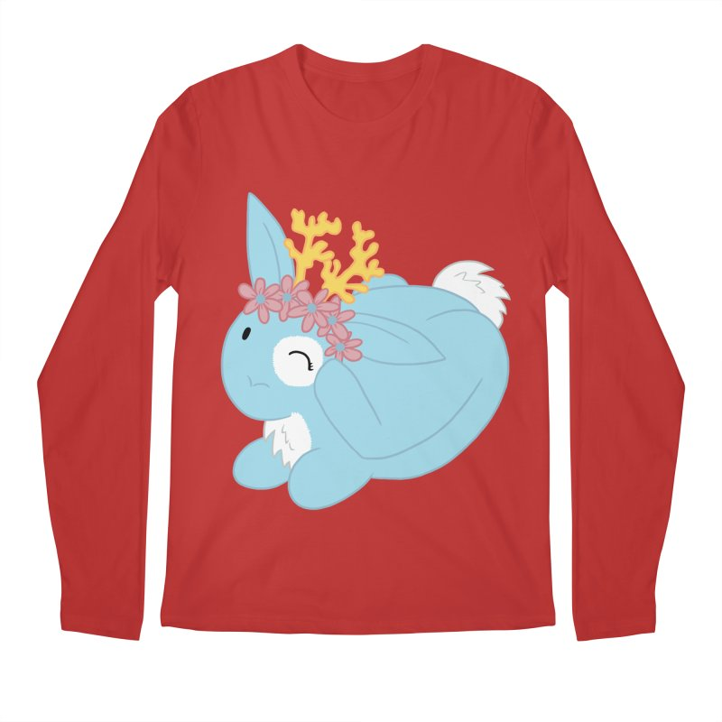 Blue Spring Festival Jackalope Men's Regular Longsleeve T-Shirt by Rachel Yelding | enchantedviolin