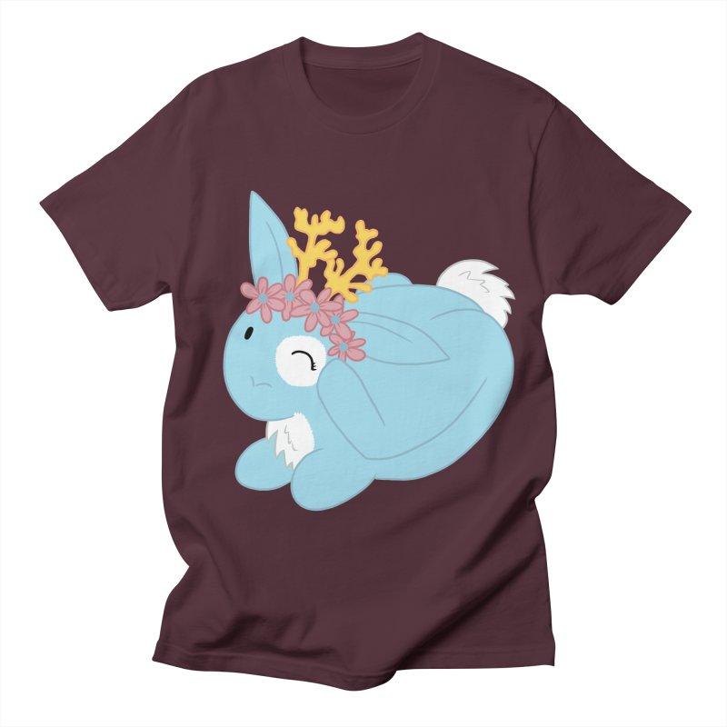 Blue Spring Festival Jackalope Men's Regular T-Shirt by Rachel Yelding   enchantedviolin