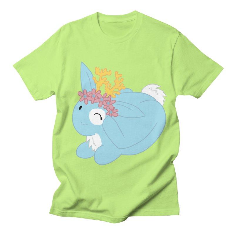 Blue Spring Festival Jackalope Men's T-Shirt by Rachel Yelding | enchantedviolin