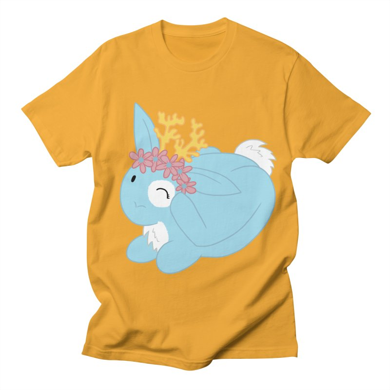 Blue Spring Festival Jackalope Women's Regular Unisex T-Shirt by Rachel Yelding | enchantedviolin