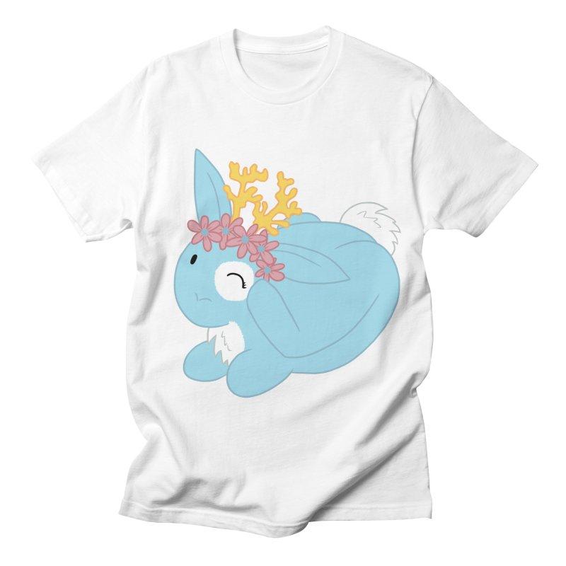 Blue Spring Festival Jackalope Men's Regular T-Shirt by Rachel Yelding | enchantedviolin