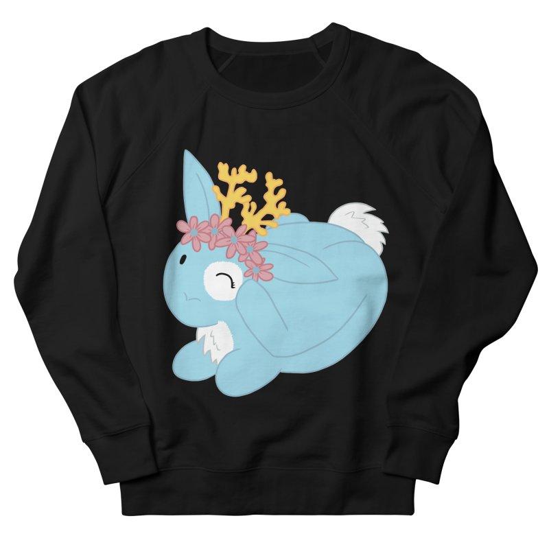 Blue Spring Festival Jackalope Women's Sweatshirt by Rachel Yelding | enchantedviolin