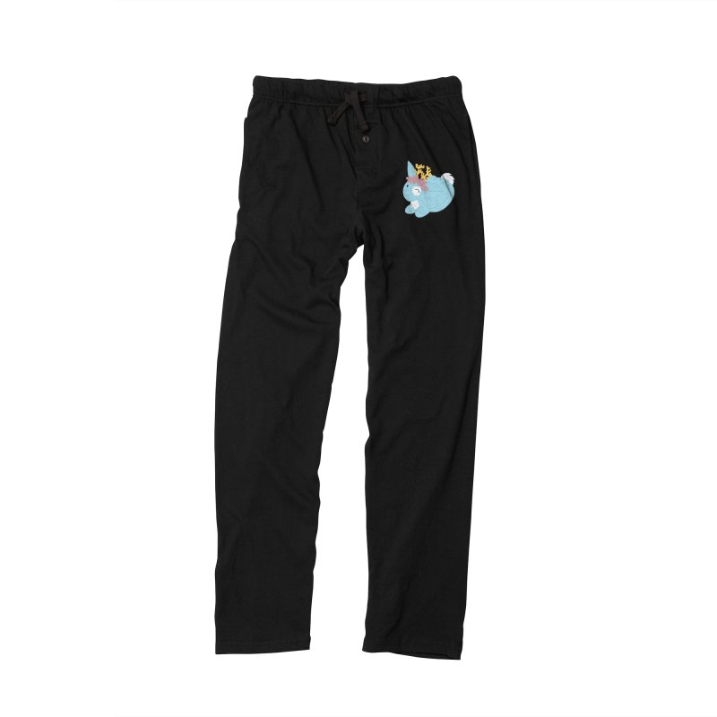 Blue Spring Festival Jackalope Women's Lounge Pants by Rachel Yelding | enchantedviolin