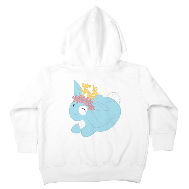 Blue Spring Festival Jackalope Kids Toddler Zip-Up Hoody by Rachel Yelding | enchantedviolin