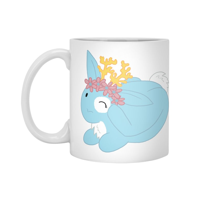 Blue Spring Festival Jackalope Accessories Mug by Rachel Yelding | enchantedviolin
