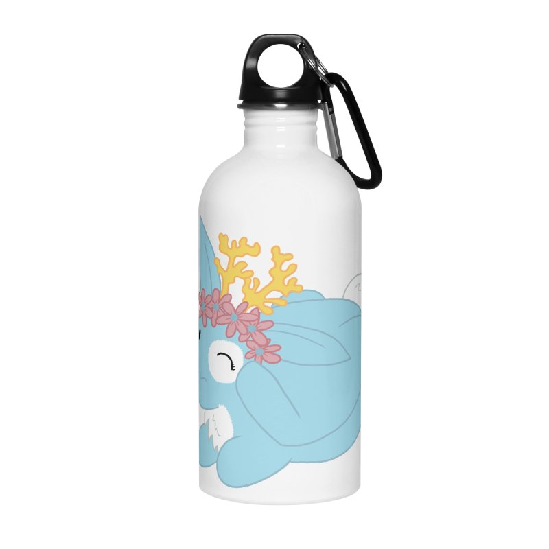 Blue Spring Festival Jackalope Accessories Water Bottle by Rachel Yelding | enchantedviolin