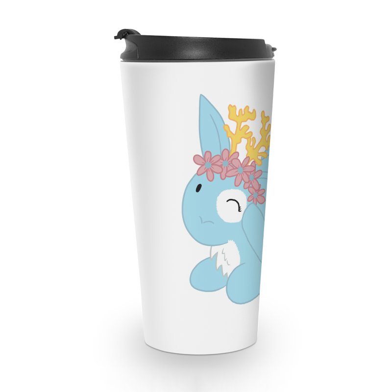 Blue Spring Festival Jackalope Accessories Travel Mug by Rachel Yelding | enchantedviolin