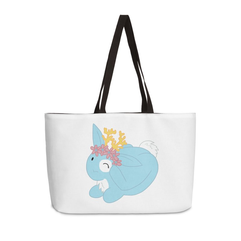 Blue Spring Festival Jackalope Accessories Weekender Bag Bag by Rachel Yelding | enchantedviolin