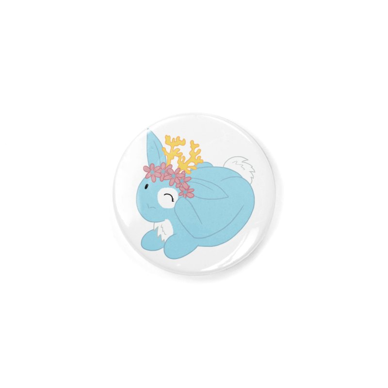 Blue Spring Festival Jackalope Accessories Button by Rachel Yelding | enchantedviolin