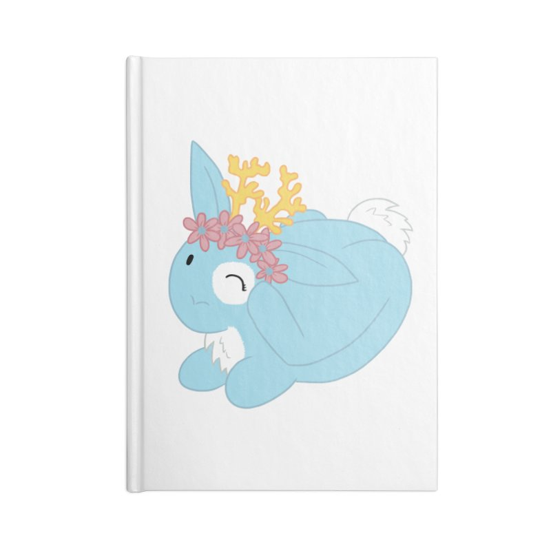 Blue Spring Festival Jackalope Accessories Lined Journal Notebook by Rachel Yelding | enchantedviolin