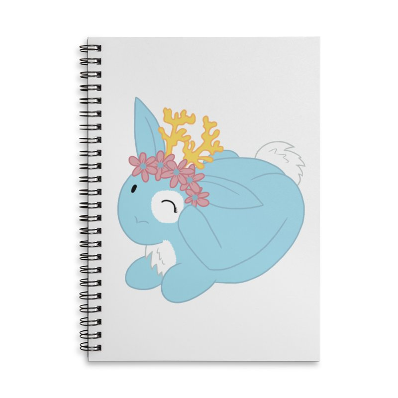 Blue Spring Festival Jackalope Accessories Lined Spiral Notebook by Rachel Yelding | enchantedviolin