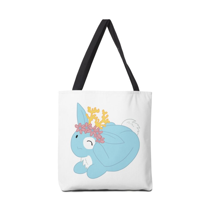 Blue Spring Festival Jackalope Accessories Tote Bag Bag by Rachel Yelding | enchantedviolin