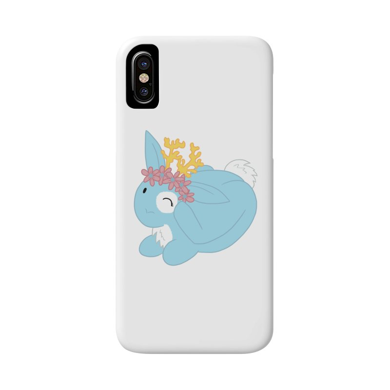 Blue Spring Festival Jackalope Accessories Phone Case by Rachel Yelding | enchantedviolin