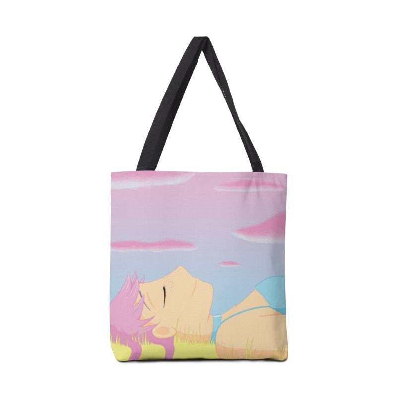 Companions - Relaxed Plum Accessories Tote Bag Bag by Rachel Yelding | enchantedviolin