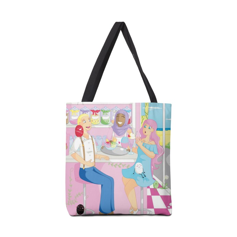 Companions - Ice Cream Parlour in Tote Bag by Rachel Yelding | enchantedviolin