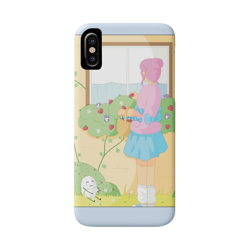 Companions - Strawberry Picking and Daisy Chain Making Accessories Phone Case by Rachel Yelding | enchantedviolin