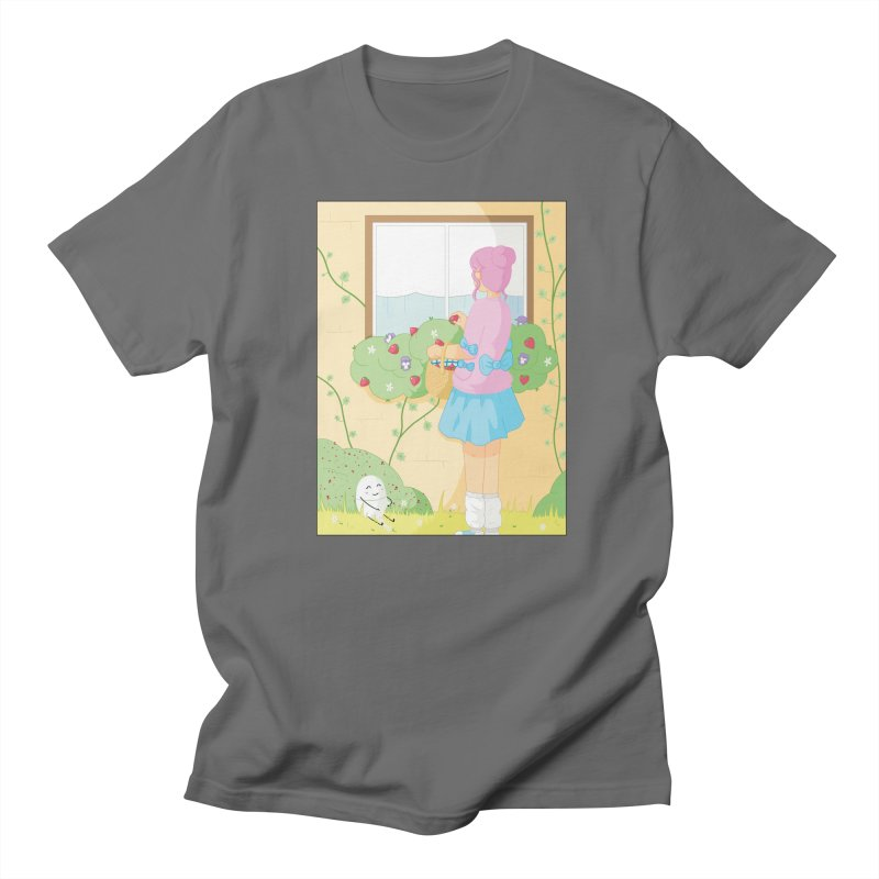 Companions - Strawberry Picking and Daisy Chain Making Men's T-Shirt by Rachel Yelding   enchantedviolin
