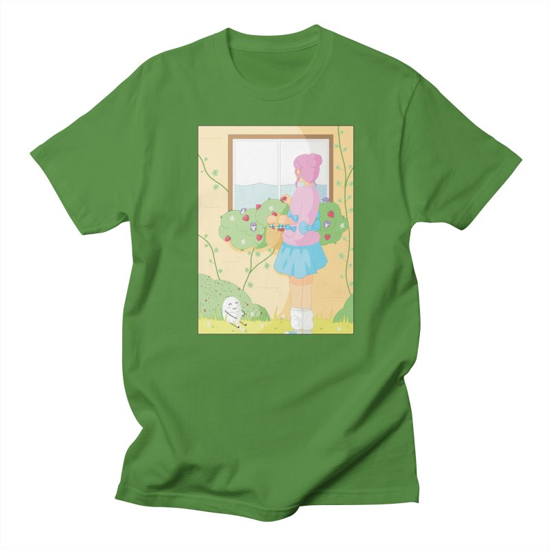 Companions - Strawberry Picking and Daisy Chain Making Women's Regular Unisex T-Shirt by Rachel Yelding | enchantedviolin