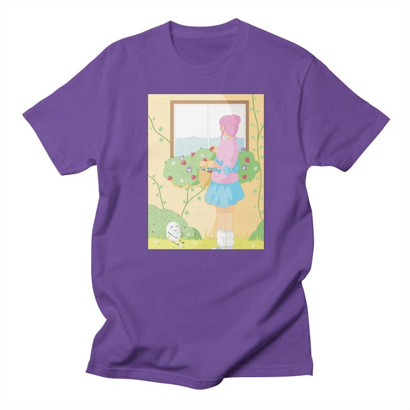 Companions - Strawberry Picking and Daisy Chain Making Women's Regular Unisex T-Shirt by Rachel Yelding | enchantedviolin