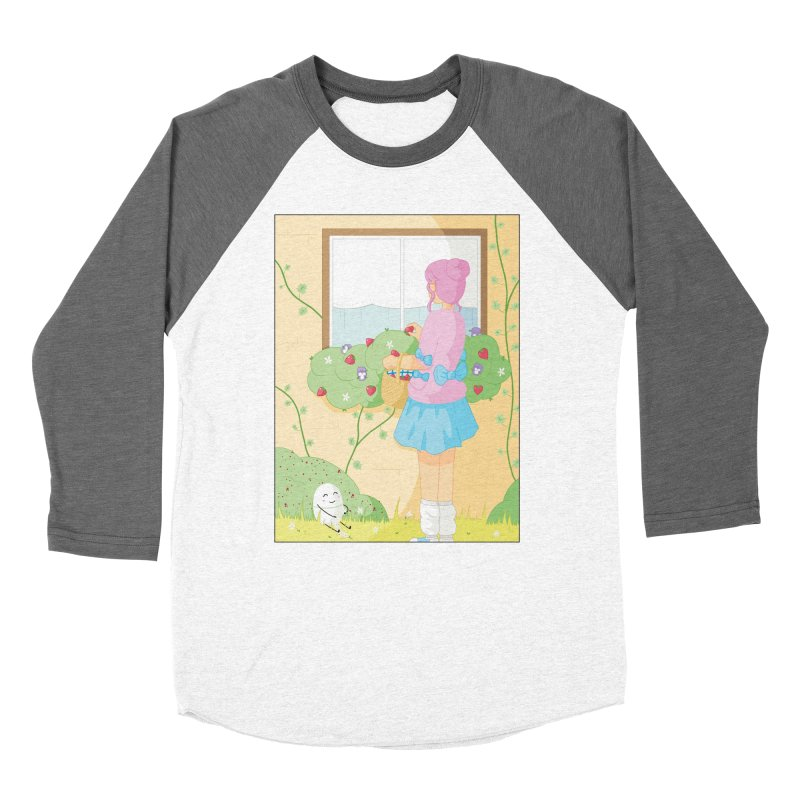 Companions - Strawberry Picking and Daisy Chain Making Women's Longsleeve T-Shirt by Rachel Yelding | enchantedviolin