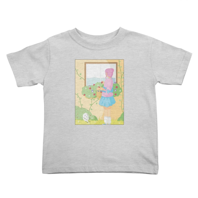 Companions - Strawberry Picking and Daisy Chain Making Kids Toddler T-Shirt by Rachel Yelding | enchantedviolin