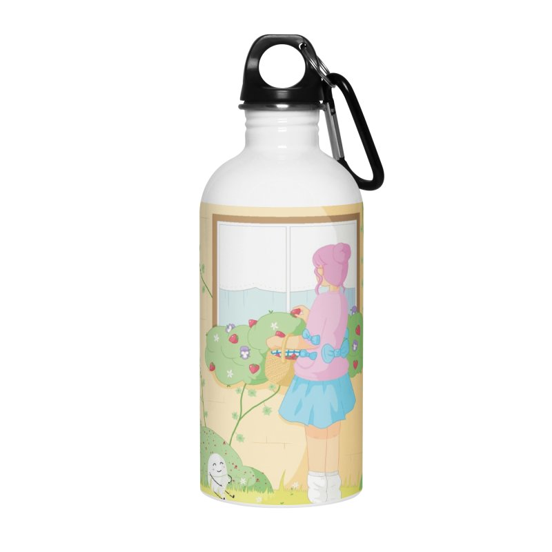 Companions - Strawberry Picking and Daisy Chain Making Accessories Water Bottle by Rachel Yelding | enchantedviolin