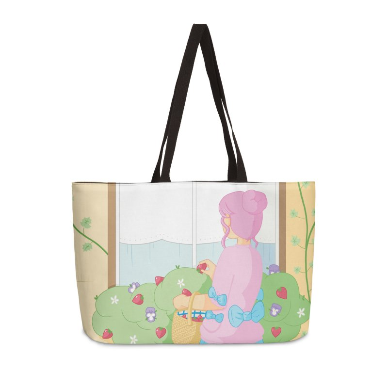 Companions - Strawberry Picking and Daisy Chain Making Accessories Weekender Bag Bag by Rachel Yelding | enchantedviolin