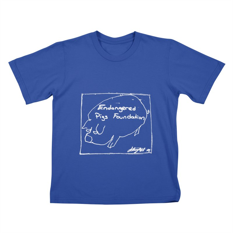 Kid's Tshirt Kids T-Shirt by Endangered Pig's Foundation