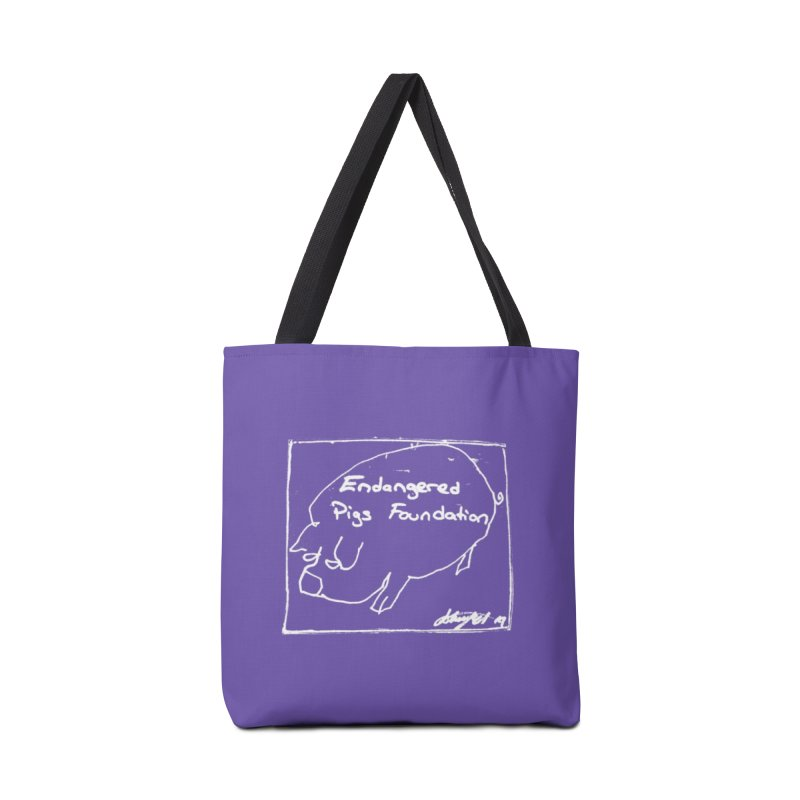 Tote Bag Accessories Bag by Endangered Pig's Foundation