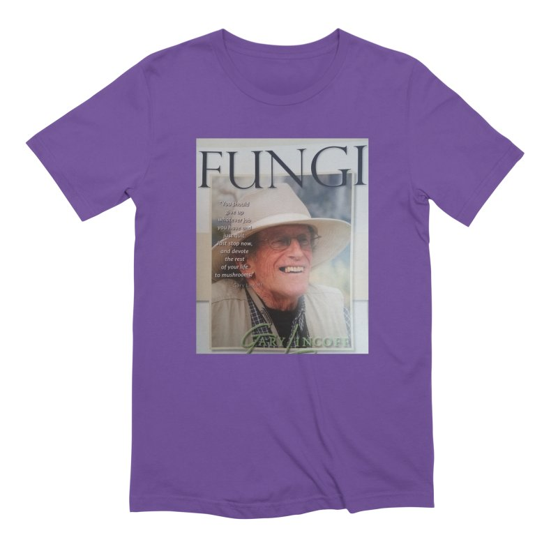 FUNGI Men's T-Shirt by Endangered Pig's Foundation