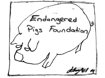 Endangered Pig's Foundation Logo
