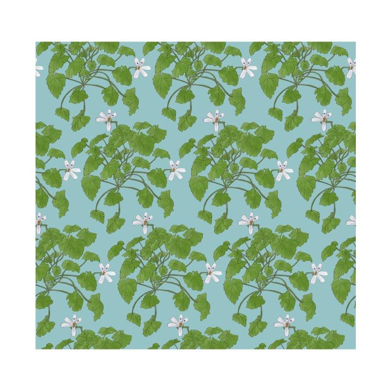 pelargonium odoratissimum apple scented Home Duvet by Nature&speciesArt    Artist Shop